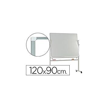 Pizarra blanca de melamina con ruedas Q-Connect: Amazon.es ...