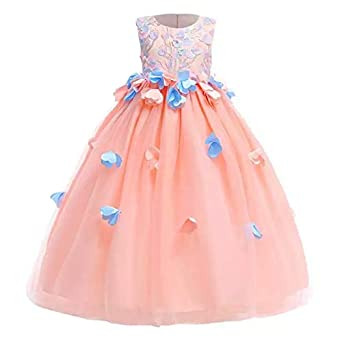 a62411ec20903 Moda Fina Baby Girl Party Wear Ball Gown for Birthday