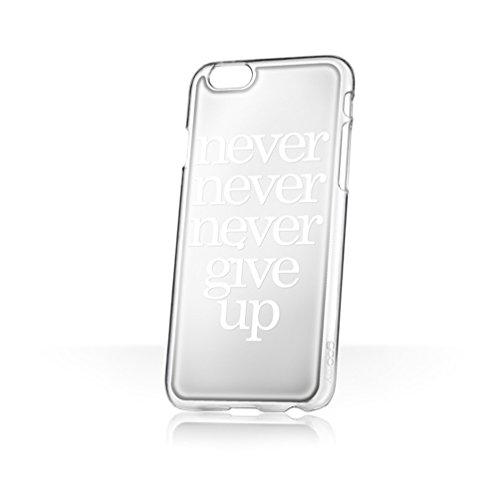 Blair, Sammlerstück X goo. EY–Hände frei Handytasche/Schutzhülle/Etui für Apple iPhone 6/6S–Never Give Up (Spiegel)