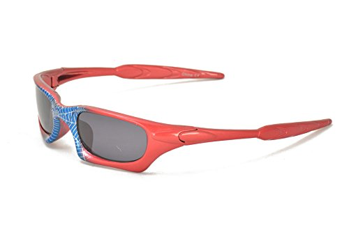 Spider-Man Super Hero Style Kids Biking Cycling Sunglasses for Boys by Colorful Items (Image #2)