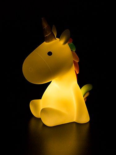 Unicorn Soft rainbow Night Light, LED light, Soft Colors, Fairytales, Magical, Children Night Lamp, Baby Nursery Lamp Bedroom light with Timer