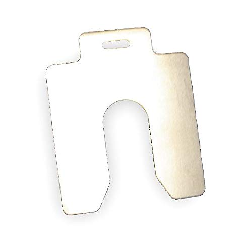 Maudlin Products MSD004-20 Slotted Shim Size D .004'' X 5'' X 5'' (20 pc. Pack) by Maudlin Products