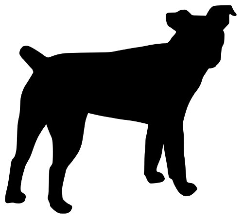 Jack Russell Terrier Dog Vinyl Decal Sticker - JRT Parson Fox 5