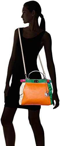 De Multicolor bianco Cbc34021tar turchese Mano Bolsos Chicca Borse Mujer OUCwqYtY