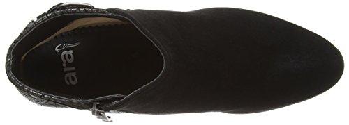 ara Toulouse - botas de cuero mujer negro - Schwarz (schwarz,gun -05)
