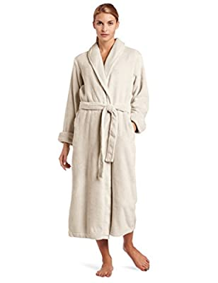 """Casual Moments Women's 50"""" Set in Belt Wrap Robe"""