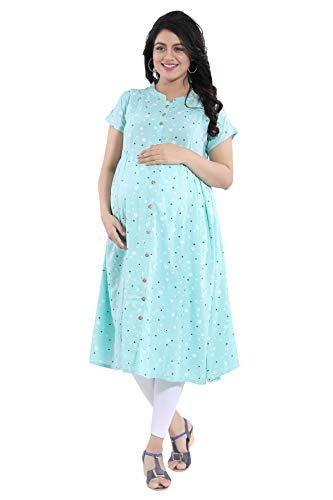 Mamma's Maternity® Women's Printed Rayon Maternity/Feeding kurti