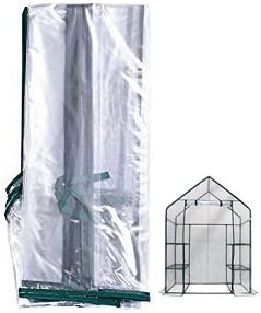 5 Tier Reinforced Clear Greenhouse Replacement Cover Gardman 3 4