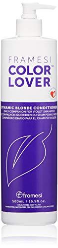 FRAMESI Color Lover Dynamic Blonde Conditioner, 16.9 Fl Oz
