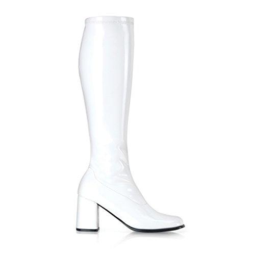 Stivali Donna Funtasma Gogo-300 Bianco Elasticizzato