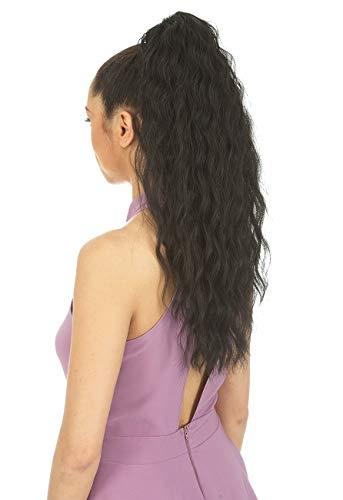 [Ponytail] New Born Free Drawstring Ponytail Curly Style - MILEY - 0370 (1B)