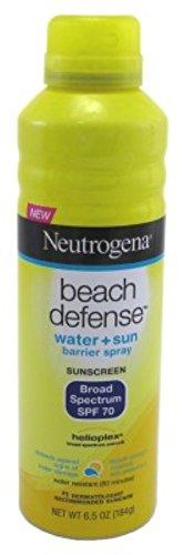 Neutrogena Beach Defense Spf#70 Spray 6.5 Ounce (192ml) (6 Pack)