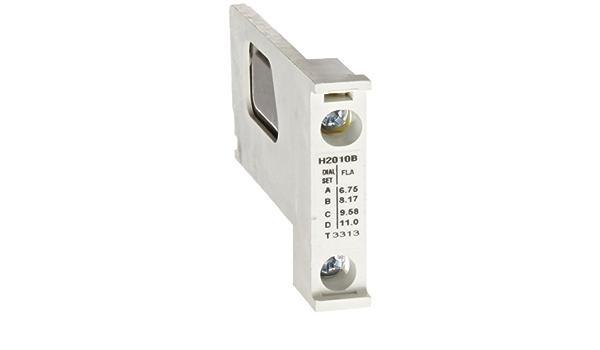 Eaton//Cutler-Hammer H2010B Heater 6.75-11.0A.