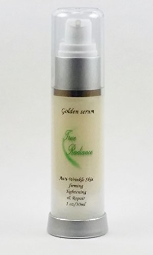 GOLDEN SERUM for Skin tightening, firming and sagging prevention. Also has 20% Argireline, DMAE, APT (Red marine Algae), Pepha tight, Hyaluronic acid, Vitamin A (Retinol), Vitamin C, and Syncoll plus much more. PARABEN FREE 1 oz/30ml - Vitamin Radiance Cream
