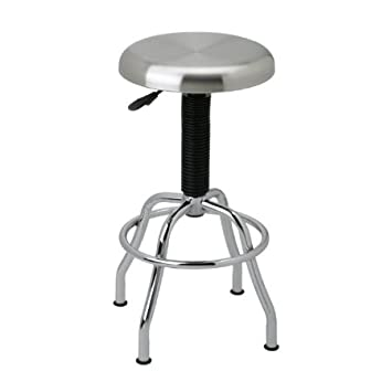 Prime Seville Classics Stainless Steel Top Work Stool Caraccident5 Cool Chair Designs And Ideas Caraccident5Info