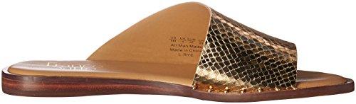 Franco Sarto Women's Rye Flat Sandal Gold vRiM0rTw