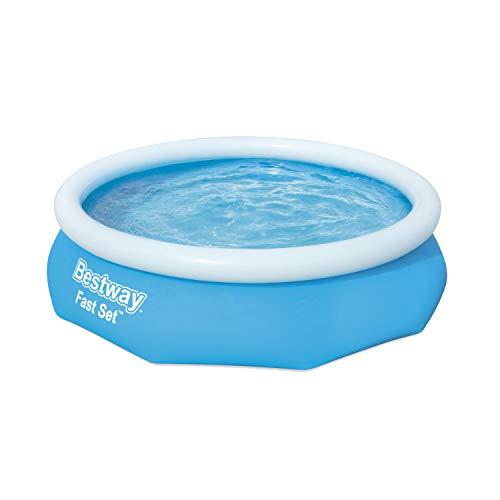 Bestway 57266-19 Round Kids Inflatable Pool, 10 ft, Fast Set
