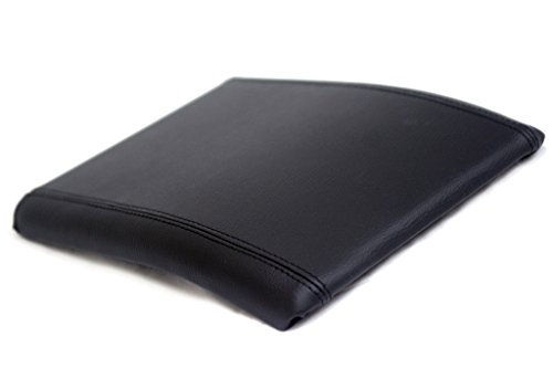 Ford F150 center console armrest synthetic leather cover black, jump seat For 04-08