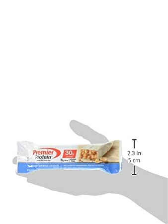 Premier Protein Bar Yogurt Peanut Crunch 6 bars: Amazon.es: Salud y cuidado personal