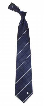 NFL Indianapolis Colts Men's Woven Silk Oxford Necktie, One Size, Multicolor