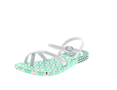 IPANEMA Sandal - FASHION SANDAL FEM III 81709 - white white green White White Green