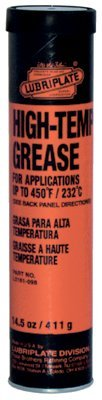 Lubriplate Cartridge High Temp Grease #16198 (293-L0161-098) Category: Multi-Purpose Grease