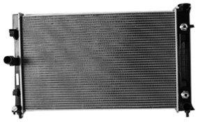 tyc-2987-pontiac-gto-1-row-plastic-aluminum-replacement-radiator