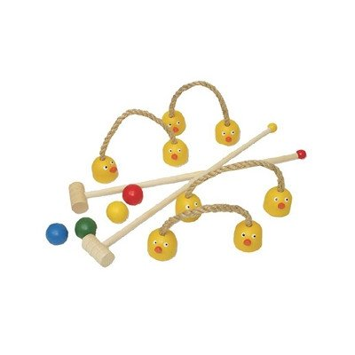 Kids Duck Croquet Set