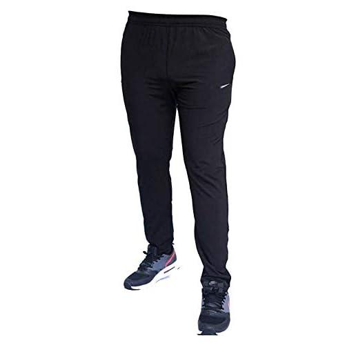 31OmVrp1FgL. SS500  - Finz Men's Cotton Track Pants,Joggers, Night Wear Pajama,Sports Gym,Lower with Zip Pockets