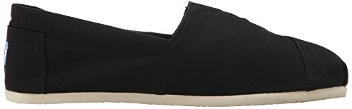 Toms Mens Classic Canvas Slip On Black
