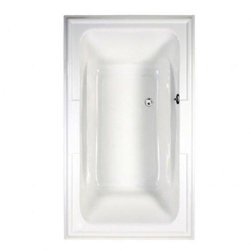 American Standard 2742068C.020 Town Square Ever Clean Air Bath, 6-Feet by 42-Inch, White American Standard Town Square Bone