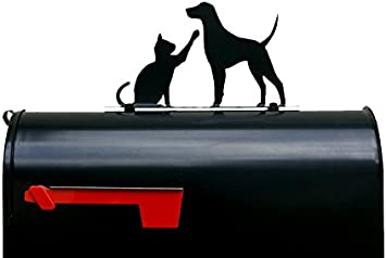 Dog Cat Mailbox Topper pet mail box