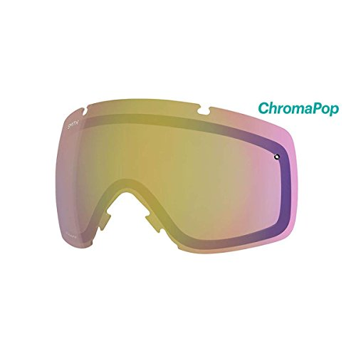 Smith Optics IO Adult Replacement Lense Snow Goggles Accessories – Chromapop Storm Yellow Flash One Size