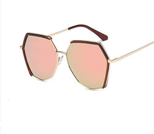 Mujeres H Nueva polarizada Gran para Moda TR90 Ultra H Gafas Hombre y de Moda KOMNY tamaño Ligero Poligonal Sol Lente de Gafas P1BwqBp