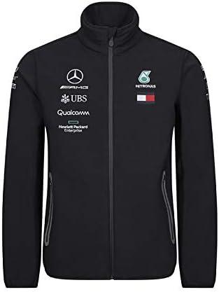 S Mercedes-AMG Petronas Motorsport Collection 2019 F1/™ pour Homme Veste Softshell Noire de l/équipe