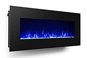 Amazon Com 3g Plus 50 Quot Electric Fireplace Wall Mounted
