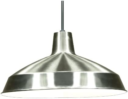 Nuvo Lighting SF76/661 Warehouse Shade, Brushed-Nickel