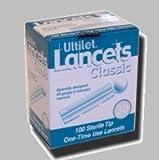 Ultilet Classic Lancets 30 Gauge - Box of 100
