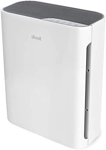 LEVOIT Air Purifier for Home Large Room, H13 True HEPA Filter Cleaner with washable filter for Allergies and Pets, Smokers, Mold, Pollen, Dust, Quiet Odor Eliminators for Bedroom, Vital 100 (White)