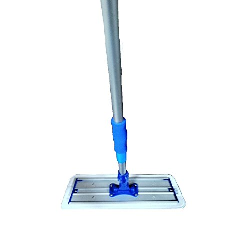 Real Clean 16 inch Professional Commercial Microfiber Mop With Two 16'' Microfiber Mop Pads and Aluminum Mop Frame and Handle by Real Clean (Image #3)