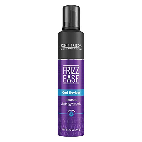 John Frieda Frizz Ease Curl Reviver Mousse, 7.2 Ounces (Best Curl Mousse For Curly Hair)