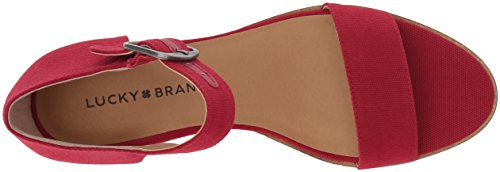 Sandal Women's Red LK Lucky Sb Riamsee Wedge w41qxTIR