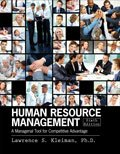 Human Resource Management : A Managerial Tool for Competitive Advantage, Kleiman, Lawrence, 1465210148