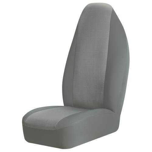 Grey Bucket Seat Covers - Braxton Universal Bucket Seat Cover, Grey  - Pack of 2