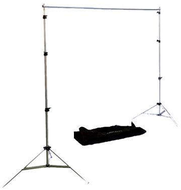 "Interfit Small Background Support System with Telescopic  Cross Bar (H94"", W 98"")"