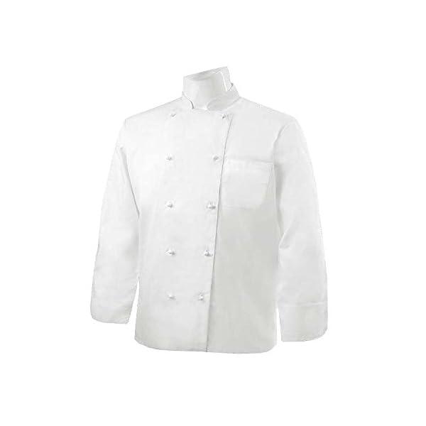 MISEMIYA - Chaquetas Chef Cocinero Manga Larga 2