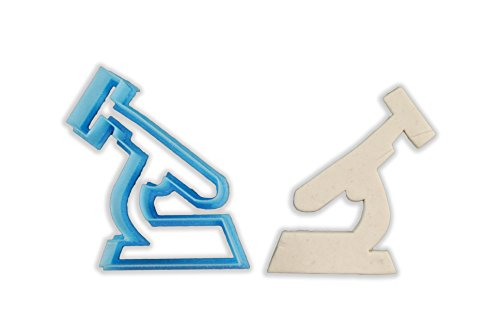 Science Microscope Cookie Cutter - LARGE - 4 Inches