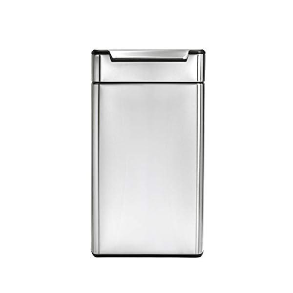 simplehuman-cestino-rettangolare-con-touch-bar-acciaio-inox-spazzolato-40-L