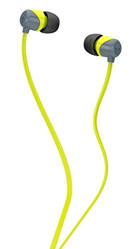 Renewed  Skullcandy SCS2DUFZ 385 Jib in Ear Headphone  Lime/Gray