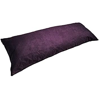 Amazon Com D Amp M Bedding Microsuede Body Pillow Cover